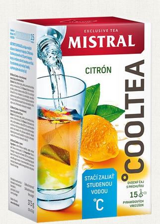 Cooltea Citrón 37,5 g
